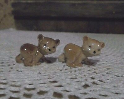 Hagen Renaker ~ San Dimas  Bear Cubs  ~Miniature Collectibles