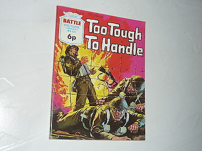 Battle Picture Library Comic Magazine No698 Too Tough to Handle German Army WW2