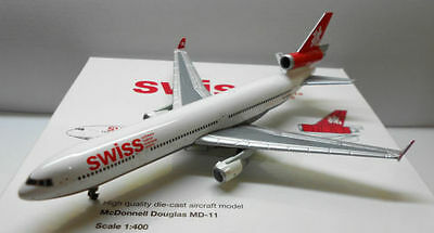 1/400 Tucano Line Swiss International Airlines Md-11 Hb-Iwn