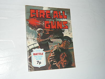 Battle Picture Library Comic Magazine No846 Fire All Guns Royal Navy Cruiser WW2