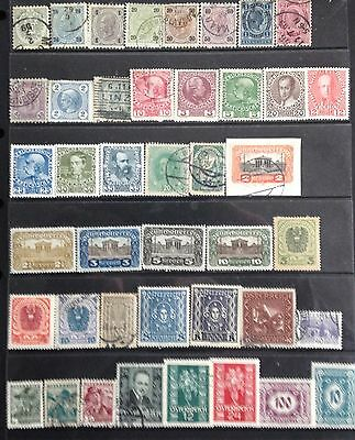 Austria Stamps 1883-1935 Mint & Used