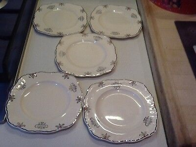 5 Alfred Meakin Marigold Side Plates