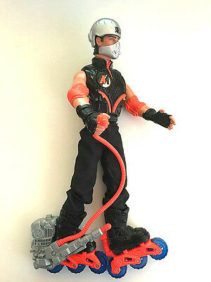 Action Man Hasbro Vintage with rollerblades Figure 2000