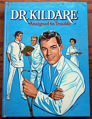 TV Dr. Kildare Assigned to Trouble Author's copy w/ Typescript 1963 Chamberlain