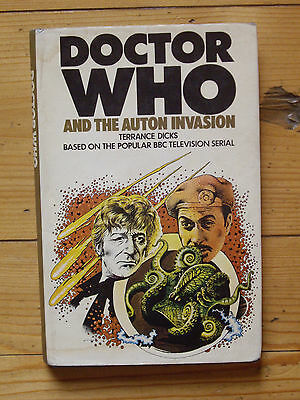 Doctor Who and the Auton Invasion, *1974 HARDBACK, NOT EX-LIBRARY, VERY RARE*