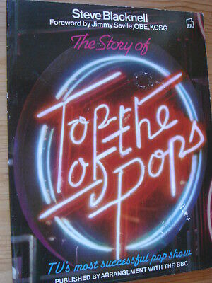 TOP OF THE POPS 1985 softback book with the show's history from 1964