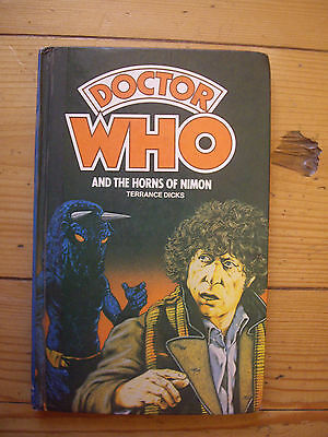 Doctor Who and the Horns of Nimon,*1980 W H ALLEN  HARDBACK*