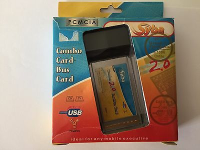 USB2.0/1394A COMBO PCMCIA CARDBUS for laptop