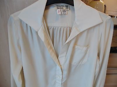 Ladies Vintage Blouse From Harrods Size 12