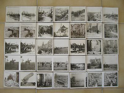 LOT DE 29 CARTES PHOTOS STEREO WW1 GUERRE 14/18  7,5x15 cm