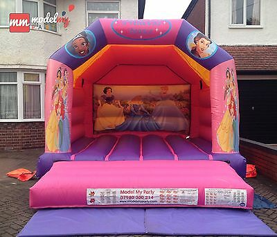 Bouncy Castle Hire - Princess Party - Hire for Day - £65