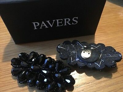 Pacers Shoe Clips Black Jewels