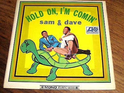 SAM & DAVE ~ HOLD ON, I'M COMIN' ATLANTIC 587045 LP ~ Plum Label~ VG+/VG+
