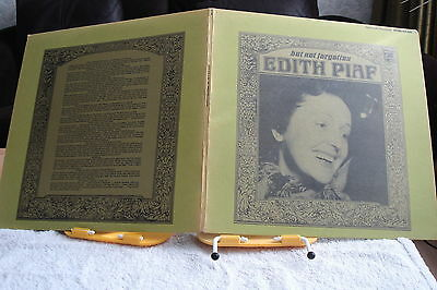 EDITH PIAF‎– But Not Forgotten –RARE LP-EX-1966-CHANSON