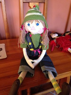hand made rag doll