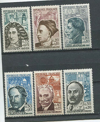 Lot Timbres Neufs France Personnages Celebres