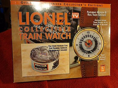 Lionel Collectible Train Watch (new)   Shipping-$9