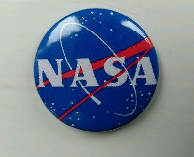 NASA  pin badge 25mm  Space exploration,  ISS ,astronaut , shuttle.free post