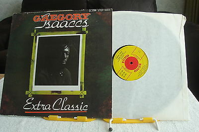 REGGAE-GREGORY ISAACS - Extra Classic-UK LP –NM-UNPLAYED-LEE PERRY