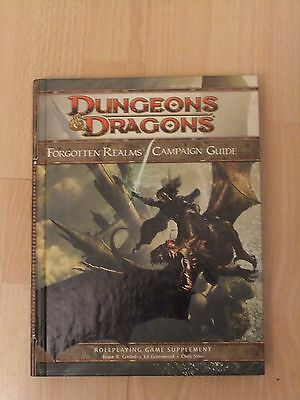 Forgotten Realms Campaign Guide D&D 4th edition 2008