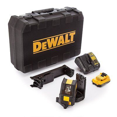 DEWALT DCE088D1G 10.8v Self-Levelling Cross Line Green Laser Kit