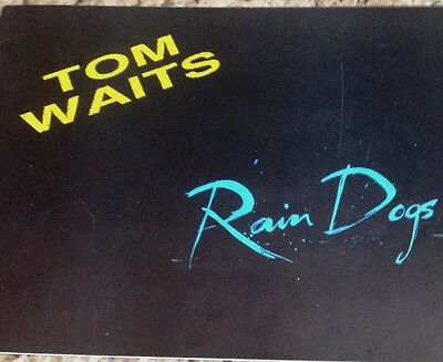 Tom Waits 1985 Rain Dogs Tour Concert Program