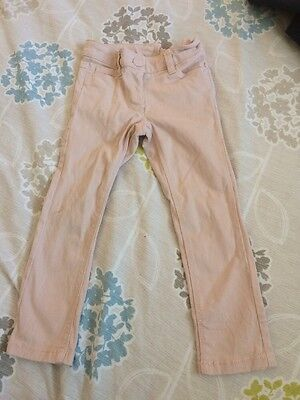 Girls (next ) Skinny Jeans Pale Pink Age 4