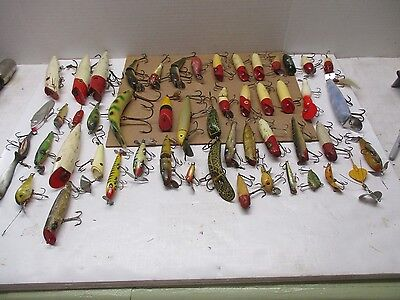 Vintage Bass Lures Set Of 50 Lures *** Must See ******