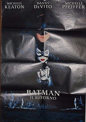 Poster film CINEMA 100X140 Originale Italiano - BATMAN