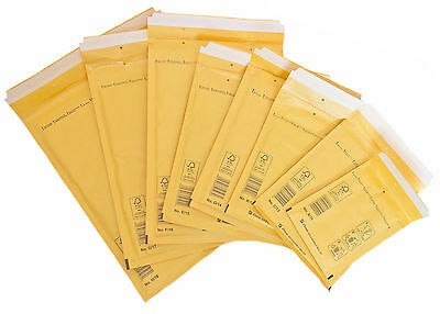 Mailing Postal Padded Bubble Bags Envelopes Post Gold ( 10-20-50-100 pcs.)