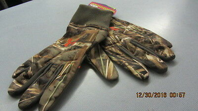 Under Armour Men's UA Scent Control Armour Fleece Gloves X-Large Realtree Max 5