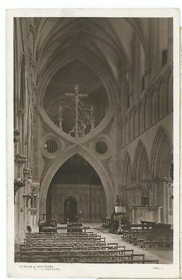 SOMERSET-WELLS CATHEDRAL-RPPC,UNPOSTED.cw420