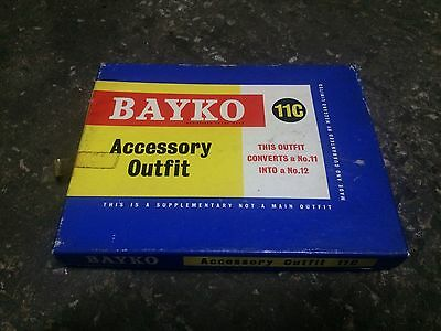 BAYKO 11C Accessory Outfit Set (un-used) old shop stock