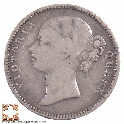 1840 British India/East India Company Half Rupee Queen Victoria *5198