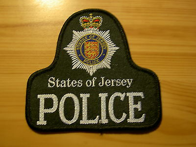 UK BRITISH POLICE - Obsolete States of Jersey Police Bell Patch