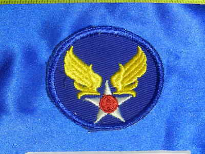 RARE Older Original WWII Army Air Force AAF Engineer Twill Patch VT0022
