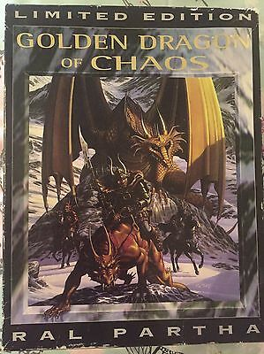 Ral Partha Limited Addition Golden Dragon Of Chaos... Extremely Rare