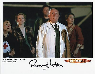 Doctor Who - Richard Wilson - Signed Photograph #A83