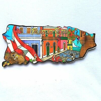 Puerto Rico Home Decorative Souvenirs Keychain Wall Holder ( Boricua Rican ) #4