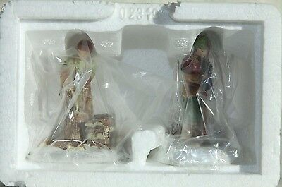 """Dept. 56 - New England Village Acc.""""A DAY AT THE CABIN (SET OF 2) """"# 56642 NIB"""