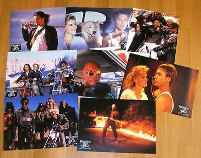 HIGHWAY TO HELL (2008) Kristy Swanson German Set 8 Original Color Lobby Cards