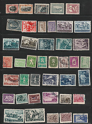 C5 Bulgaria - remaindered collection - 350+ stamps -