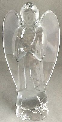Baccarat Glass/Crystal Nativity Figurine Angel Discontinued
