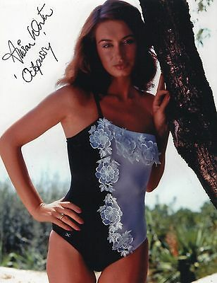 """James Bond - Alison Worth - Signed Photograph #A11 """"Octopussy"""""""