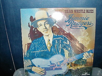 Jimmie Rodgers-Train whistle blues LP 1986