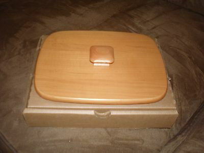 Longaberger 1996 Father's Day Address Basket Lid - Classic Stain
