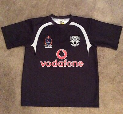 NFL Warriors Rugby League Shirt Size Age 14