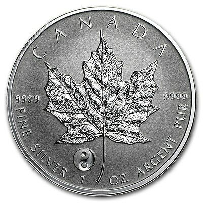 2016 1 oz Canadian Silver Maple Yin Yang Privy Coin (Reverse Proof) SKU 0411