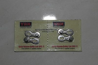 Two pair YBN 11 speed chain link joiner for bike