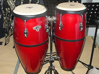 CP Conga Drums.Quality Latin Percussion. Little use from Recording Studio as new